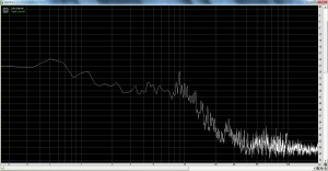 Wow and Flutter Spectrum from Yamaha YP-D71