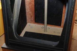 KEF 105 Bass Cabinet Inside