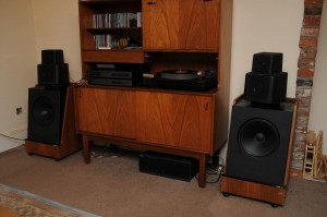 KEF 105 And system