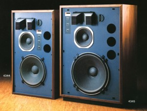 JBL 4344 and 4345