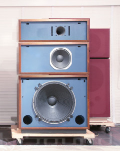 Big Blue Speakers